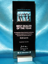 ЭЛСИ-сервис. BEST DEALER OF THE YEAR. 2011г.